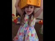 Mini Cheesehead wishing Aaron Rodgers a Happy Birthday!