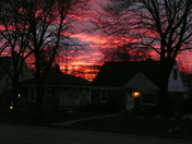 12-10-15 Sunset in /West Allis