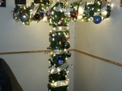 My Unique Homemade Cross Christmas Tree