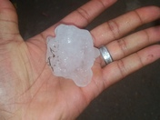 Hail in South Jackson