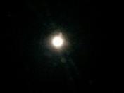 Christmas moon.