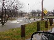 Memorial park bentonville flooding