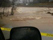 low water bridge, Noel