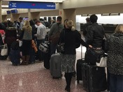 Southwest Airlines forever long line Sunday