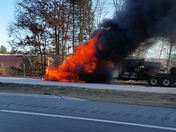 Everett turn pike truck fire