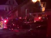 Fire on Gaston Street, Dorchester, 1/7/15