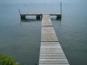 Dock along the Susquehanna River