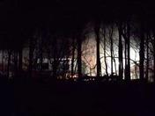 Pilot Mountain fire 3 days later!