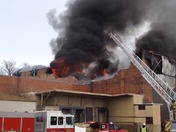 Fort Dodge Warehouse On Fire