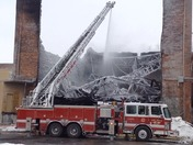 Fort Dodge Warehouse Fire Overhaul