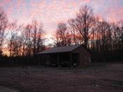 Sunrise at Camp Feel Good - Pendleton, SC
