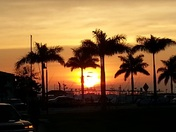 Sunset in Fort Pierce FL