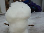 Snowman Handstand!