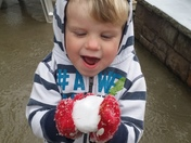 Spencer's own snowball