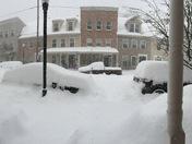 Snow North Third St, HBG