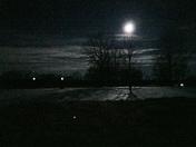 Moon Over Snow