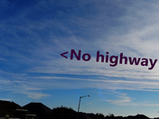 no highway in the sky???