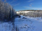 Flatbed Creek in Winter