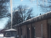 Another beautiful day of Sunshine, Blue Skies, and Melting Icicles!! :-) 1-29-20