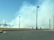 Yukon grass fire