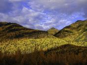 Autumn at Muncho Lake Provincial Park