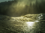 Alexandra waterfalls