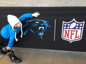 GRANDDAUGHTER GETS TO GO SEE PANTHERS DEFEAT CARDINALS!