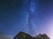 Barn and Milky Way