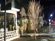 fire in Hartford village