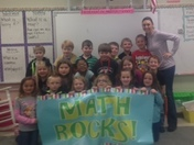 Mrs. Johnson's 1st Grade, Mountain View Elementary in Taylors