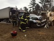 Multi-vehicle crash I-95 in Biddeford