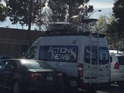 KSBW VAN ON LOCATION