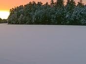 Sunset on Lake Arrowhead