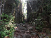 Stairs Leading to Pictographs in Agawa