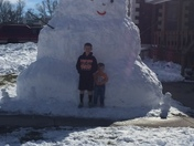 Largest snowman around