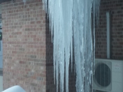 Really COOL Icicles!! :-) 2-6-2016