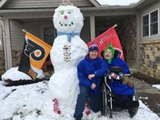 "Derrick, the 7'9"" Snowman"
