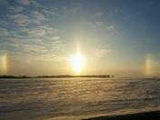 Sundogs / Belmond Iowa