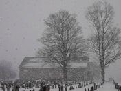 A Peaceful Winter Scene ~ Millwood Mennonite Church