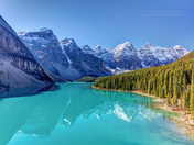 Turquoise splendor Moraine Lake