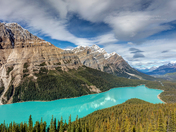 Incredible Peyto Lake