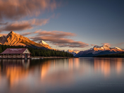Maligne Lake Sunrise