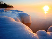 Bitter Cold Sunrise