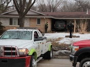 Vehicle Crash Into Windsor Heights House