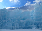 Ice Castles in Lincoln,NH
