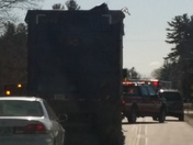 accident in kingston nh on rt 125 and South rd.