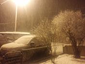 Heavy Snow in Espanola