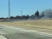Two more grass fires on turn pike westbound