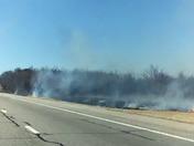 Fourth grass fire on Turner Turnoike we abound