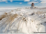 Ice lighthouse